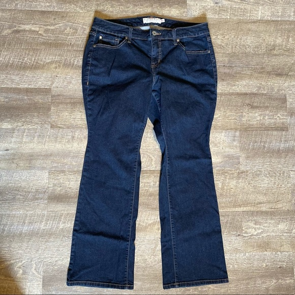 Torrid Luxe Slim Boot Cut Jeans 14 Short